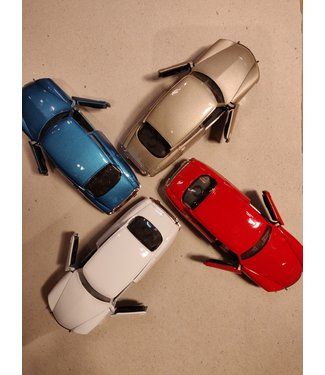 Welly Welly   Citroen DS 19   Pull-back   1:34   11,5 cm   3+