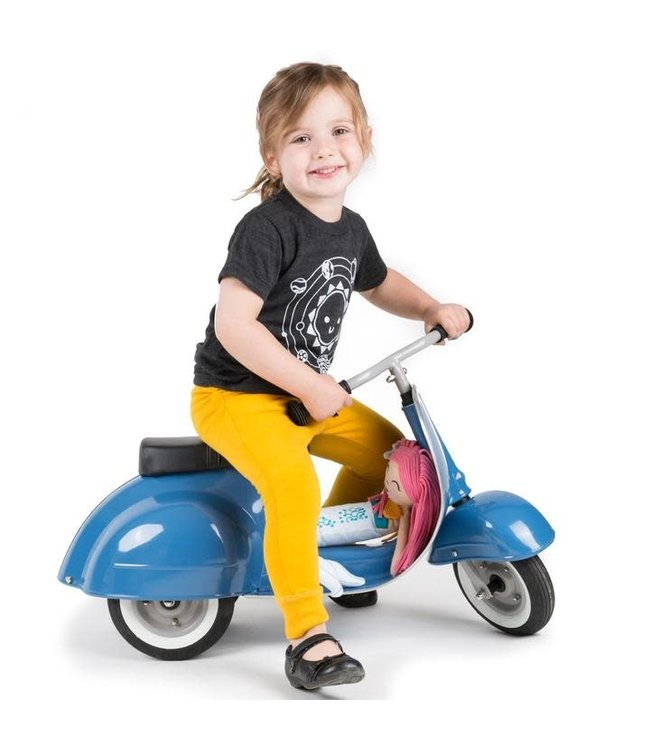Ambosstoys   Primo   Classic Kids Ride On Scooter   Blue   1-5 Jaar
