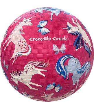Crocodile Creek Crocodile Creek | Rubber Playball | 18 cm | Unicorn Magic | 3+
