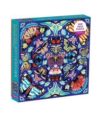 Mudpuppy Mudpuppy   Family Puzzle   Kaleido-Butterflies   500 pieces   8+