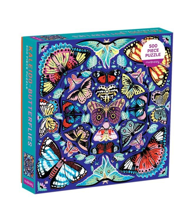 Mudpuppy | Family Puzzle | Kaleido-Butterflies | 500 pieces | 8+