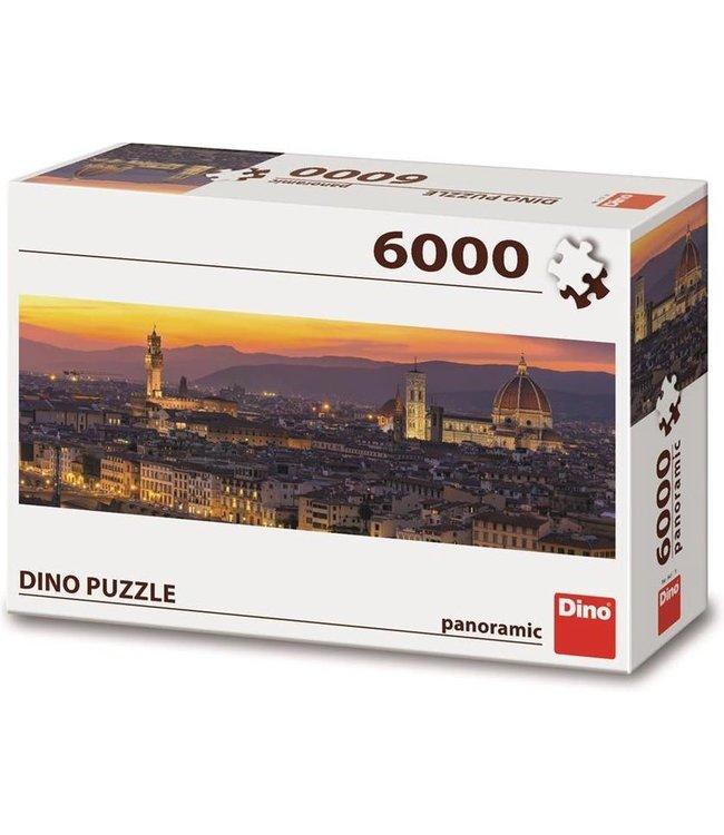 Dino Toys   Panoramische puzzel    Golden Florence   6000 stukjes