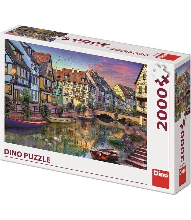 Dino Toys | Panoramische puzzel  | Romantic Evening | 2000 stukjes