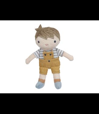 Little Dutch Little Dutch | Stoffen Knuffelpop | Jim | 10 cm |1+