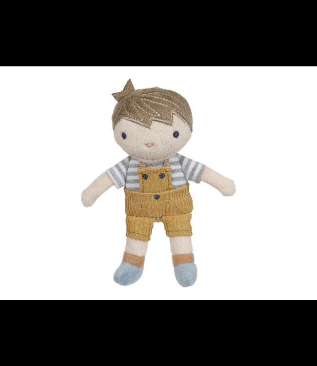 Little Dutch   Stoffen Knuffelpop   Jim   10 cm  1+