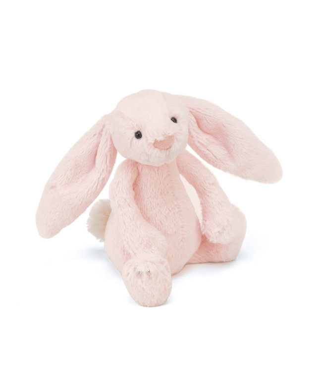 Jellycat   Bashful Bunny   Pink Rattle   18 cm   0+