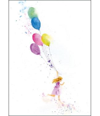 Bekking & Blitz | Rachel McNaughton | Girl running with Balloons
