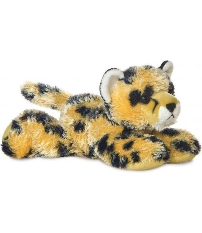 Aurora | Mini Flopsie | Cheetah Streak | 20,5 cm | 0+