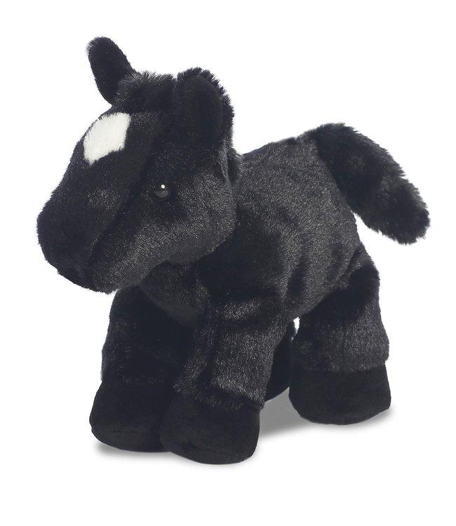 Aurora | Mini Flopsie | paard Beau zwart | 20,5 cm | 0+