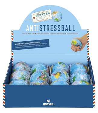 Moses Moses | Anti Stress Bal | Wereldbol | 5+