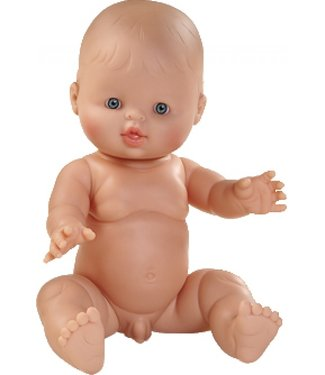 Paola Reina Paola Reina   Gordi Babypop   Jongen   Abel   34 cm