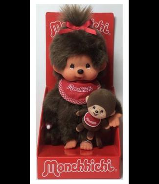 Monchhichi | Meisje | 20 cm | + Mini Monchhichi | 2+