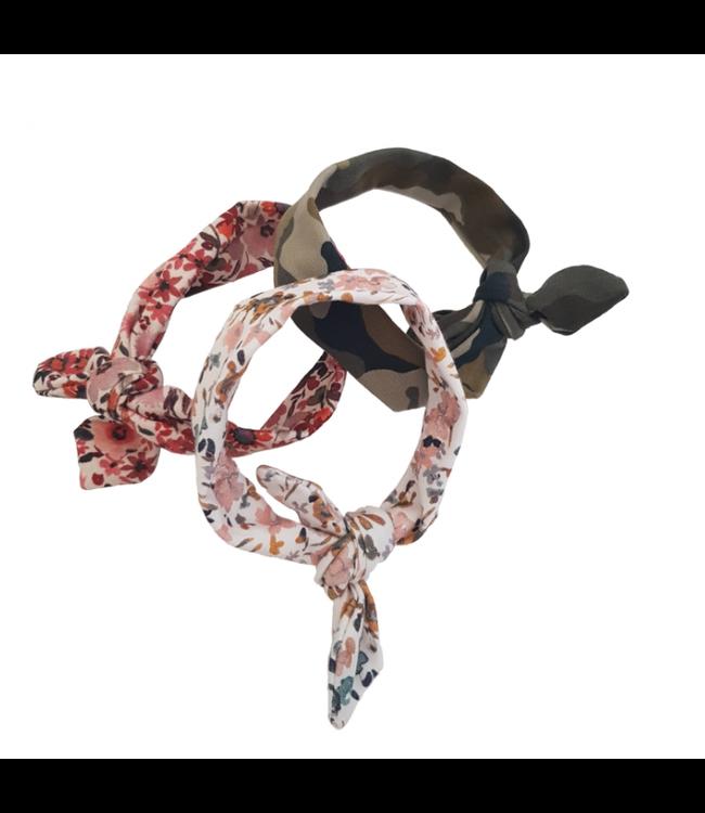 Hollie  | Poppenkleding | Poppenhaarband met knoop | 2+