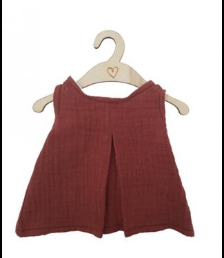 Hollie  | Poppenkleding | Poppenjurk | Blush | 34 cm