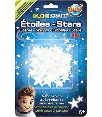 Buki | Glow in the Dark | Glow Space | Sterren 3D | 5+
