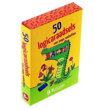 50 Logicaraadsels voor jonge Raadselfans | 8+