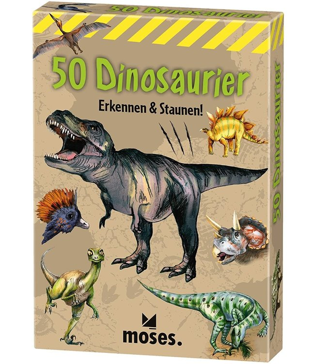 Expeditie Natuur | 50 dinosauriërs herkennen en ontdekken | 7+