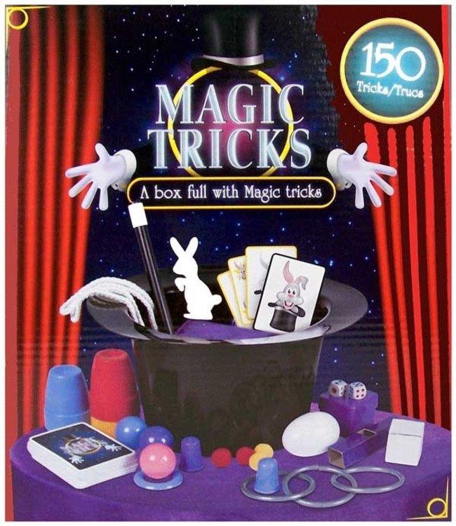Goocheltrucs in hoed | 150 Magic Tricks | 5+