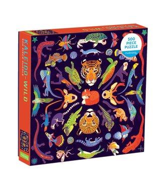 Mudpuppy Mudpuppy   Family Puzzle   Kaleido-Wild   500 pieces   8+