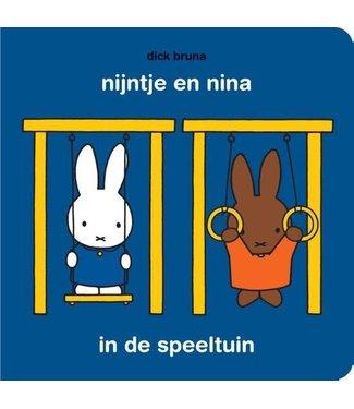 Nijntje Serie   Nijntje en Nina in de speeltuin   met puzzel