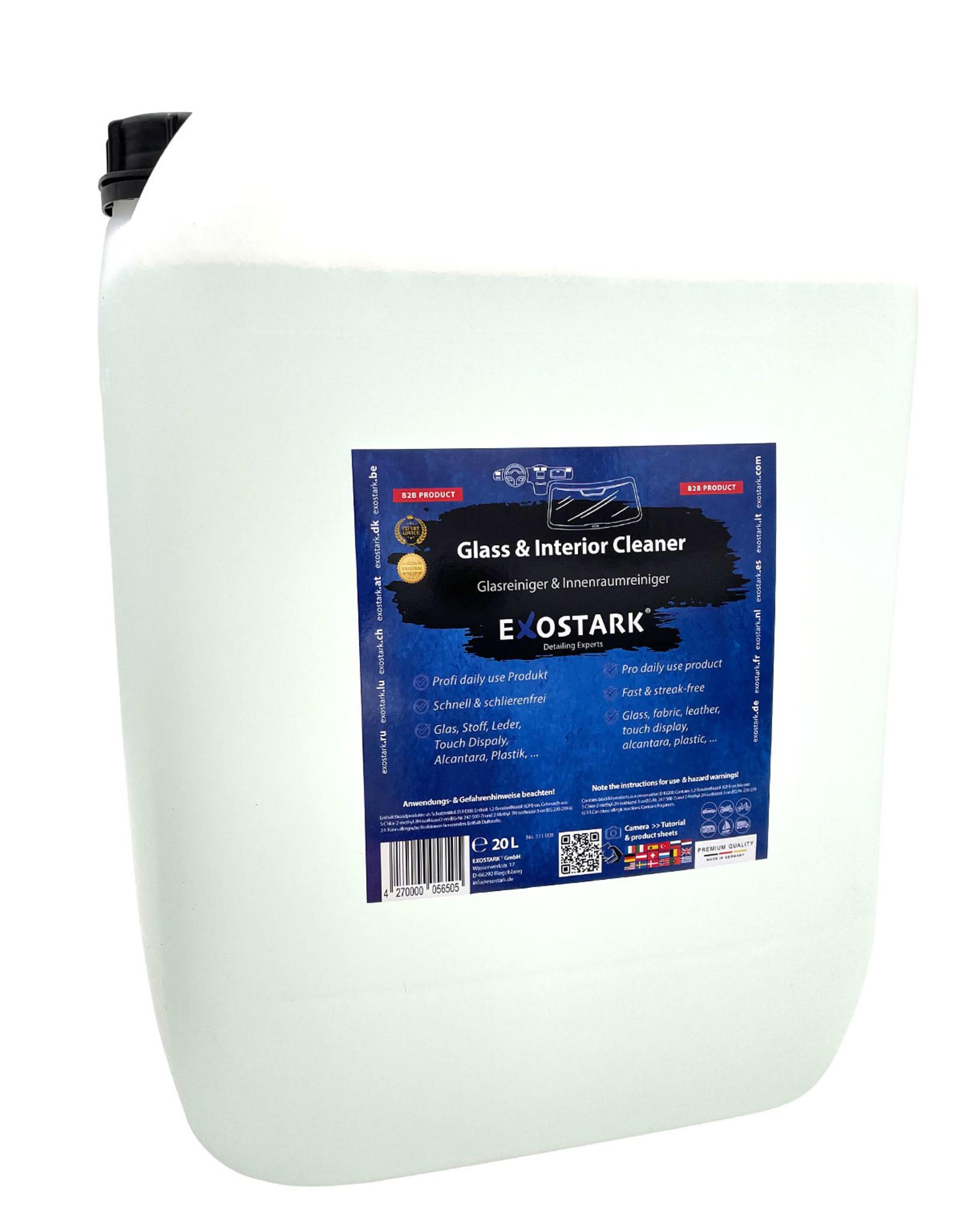 Exostark B2B - Glas- & Innenraumreiniger - 20L Kanister