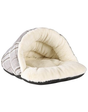 Petbrands Petbrands festive tweedy cat cave grijs