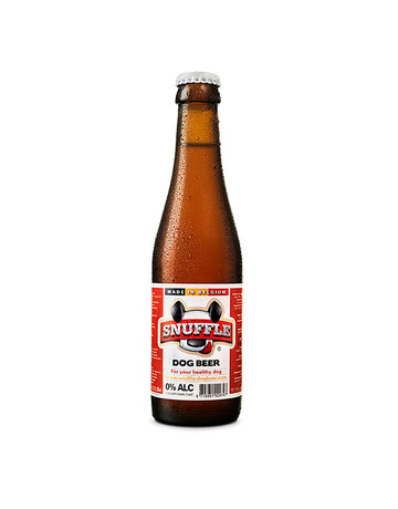 Snuffle Mixed Dog Beer Bottle