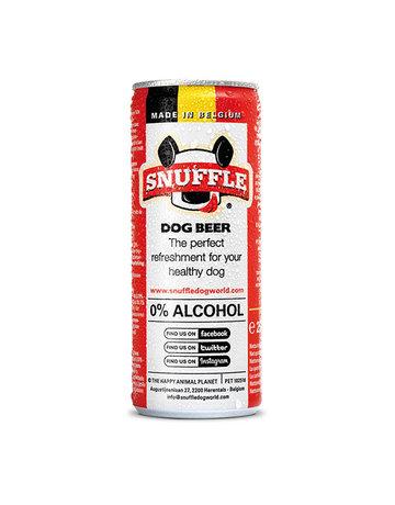 Snuffle Mixed Dog Beer Can
