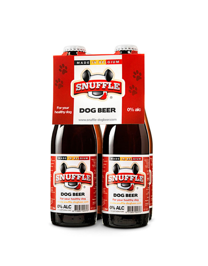 Snuffle Mixed Dog Beer 4-pack Bottles
