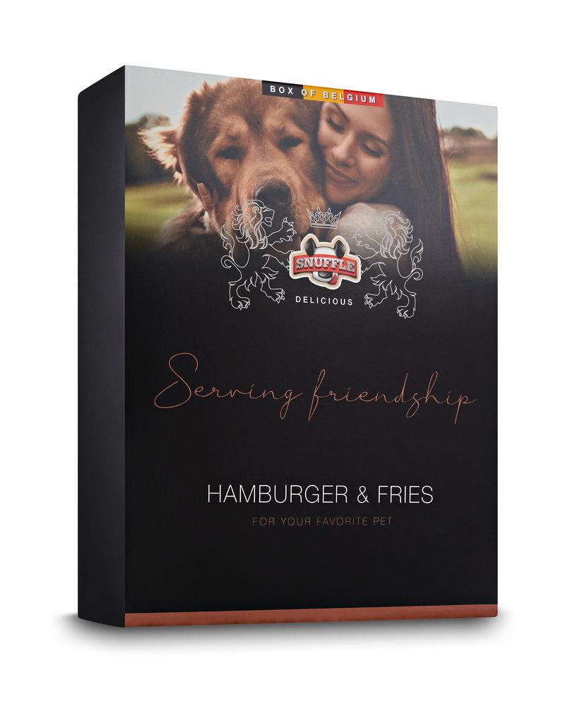 Snuffle Delicious Box Hamburger & Fries