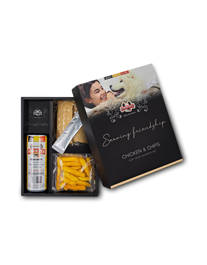 Snuffle Delicious Box Chicken & Chips