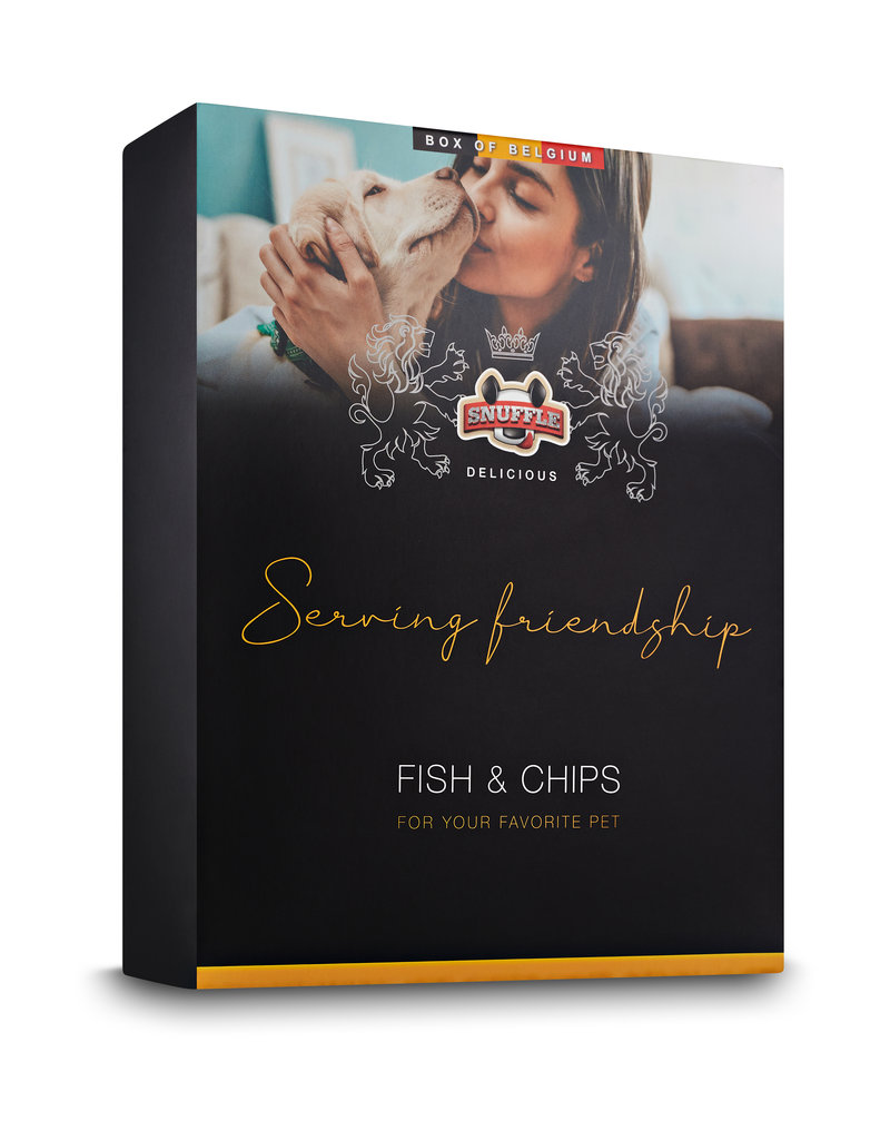 Snuffle Delicious Box Fish & Chips