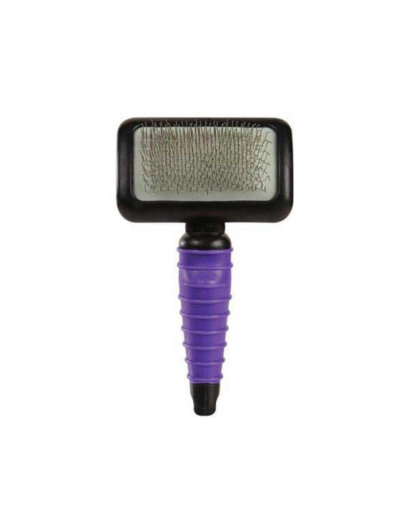 Grooming Tools MGT Ergonomic Slicker Brush Medium Lila