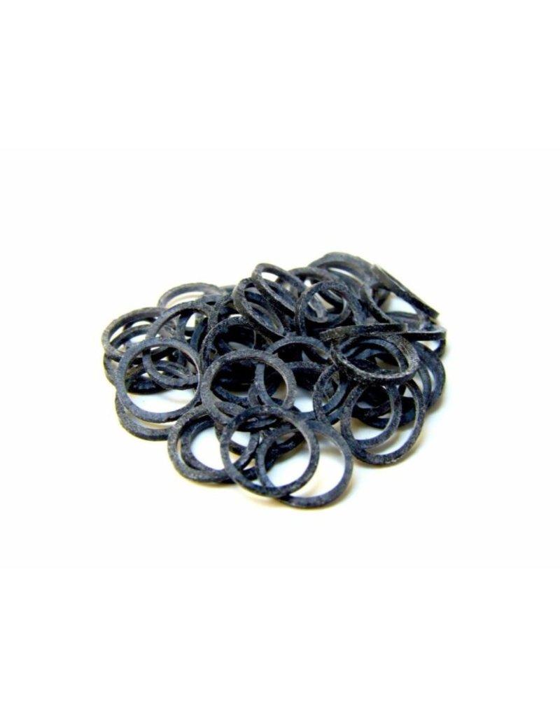 Grooming Tools Ortho Elastiekjes zwart 1000st.