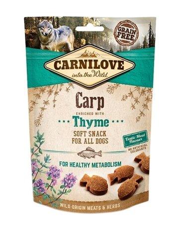 Carnilove Carnilove soft snack karper / tijm