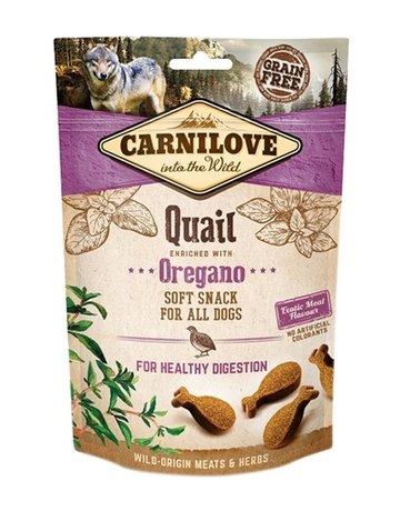 Carnilove Carnilove soft snack kwartel / oregano