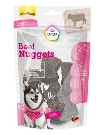 Gimborn Gimdog senses pure beef nuggets