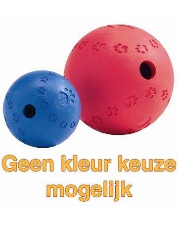 Merkloos Snackbal rubber