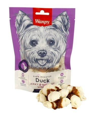Wanpy Wanpy oven-roasted duck jerky / rawhide wraps