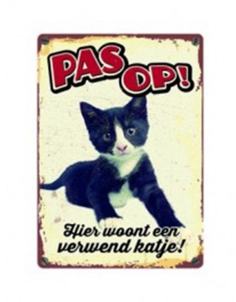 onbekend Waakbord Verwend Katje