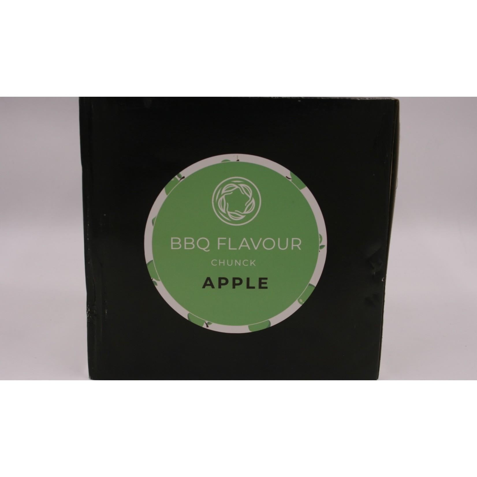 BBQ Flavour BBQ Flavour rookhout chunck Apple 2.4 kg