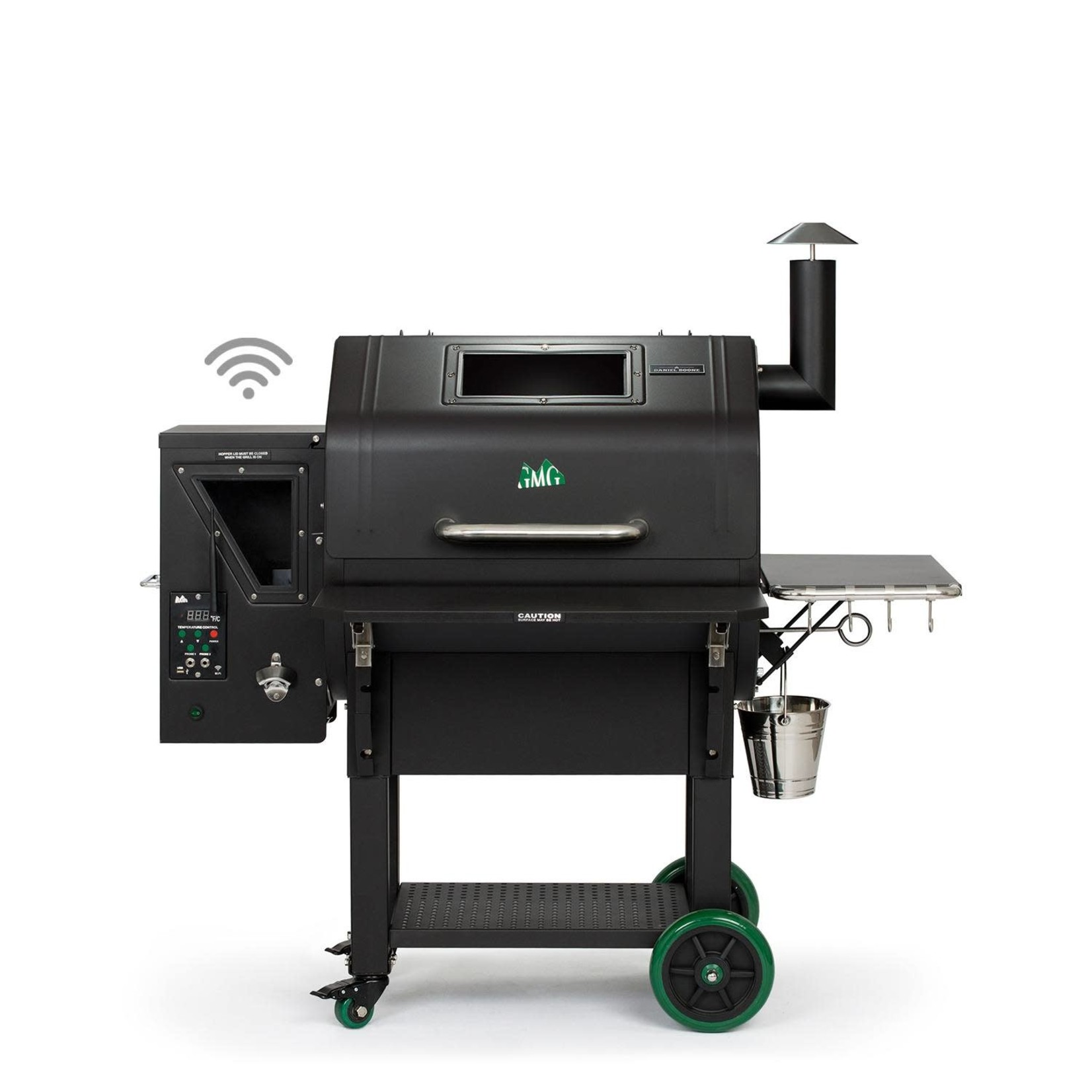 Green Mountain Grill Green Mountain Grill Ledge Prime Plus pellet grill wifi verlichting zwart