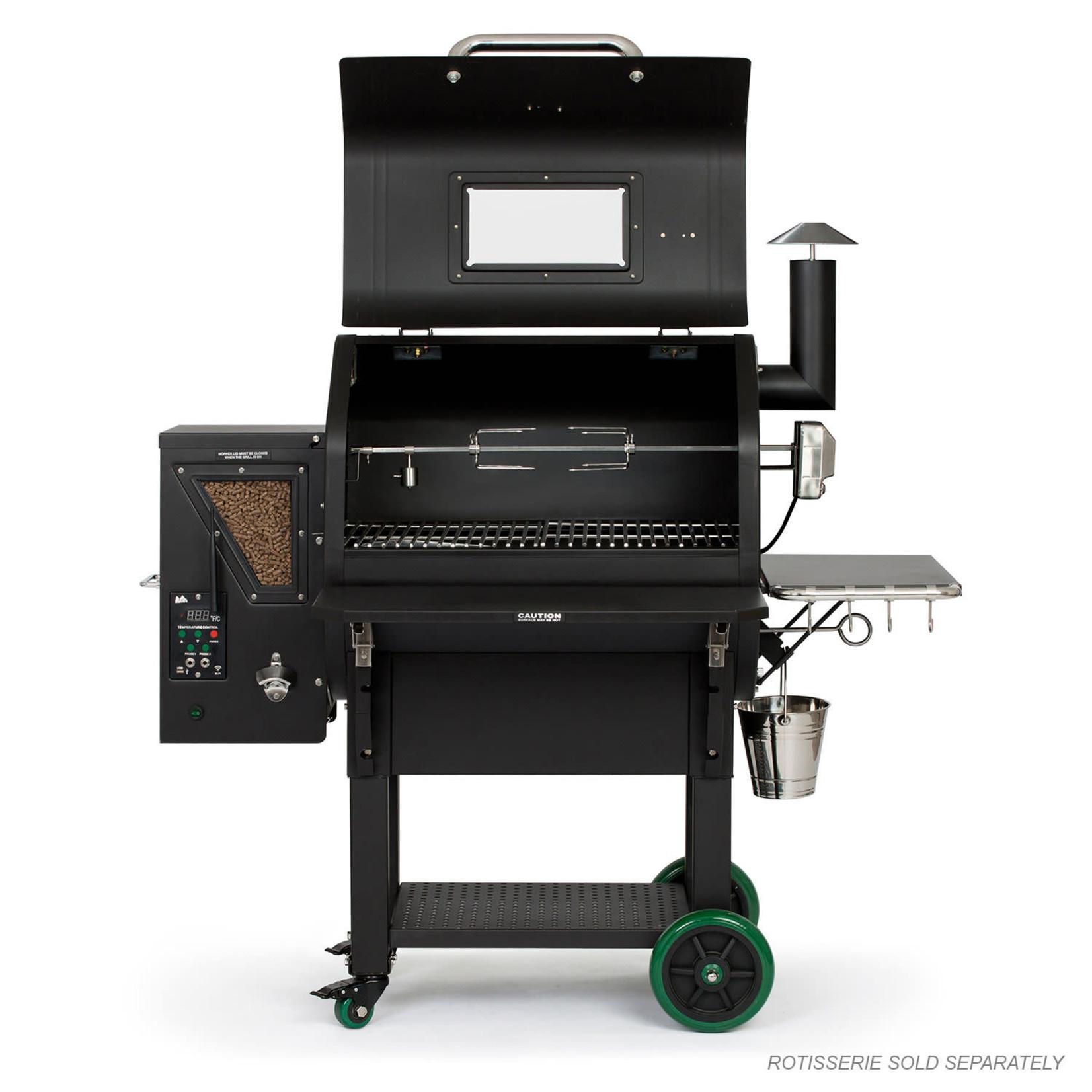 Green Mountain Grill GMG Rotisserie kit Ledge + Daniel Boone Prime+