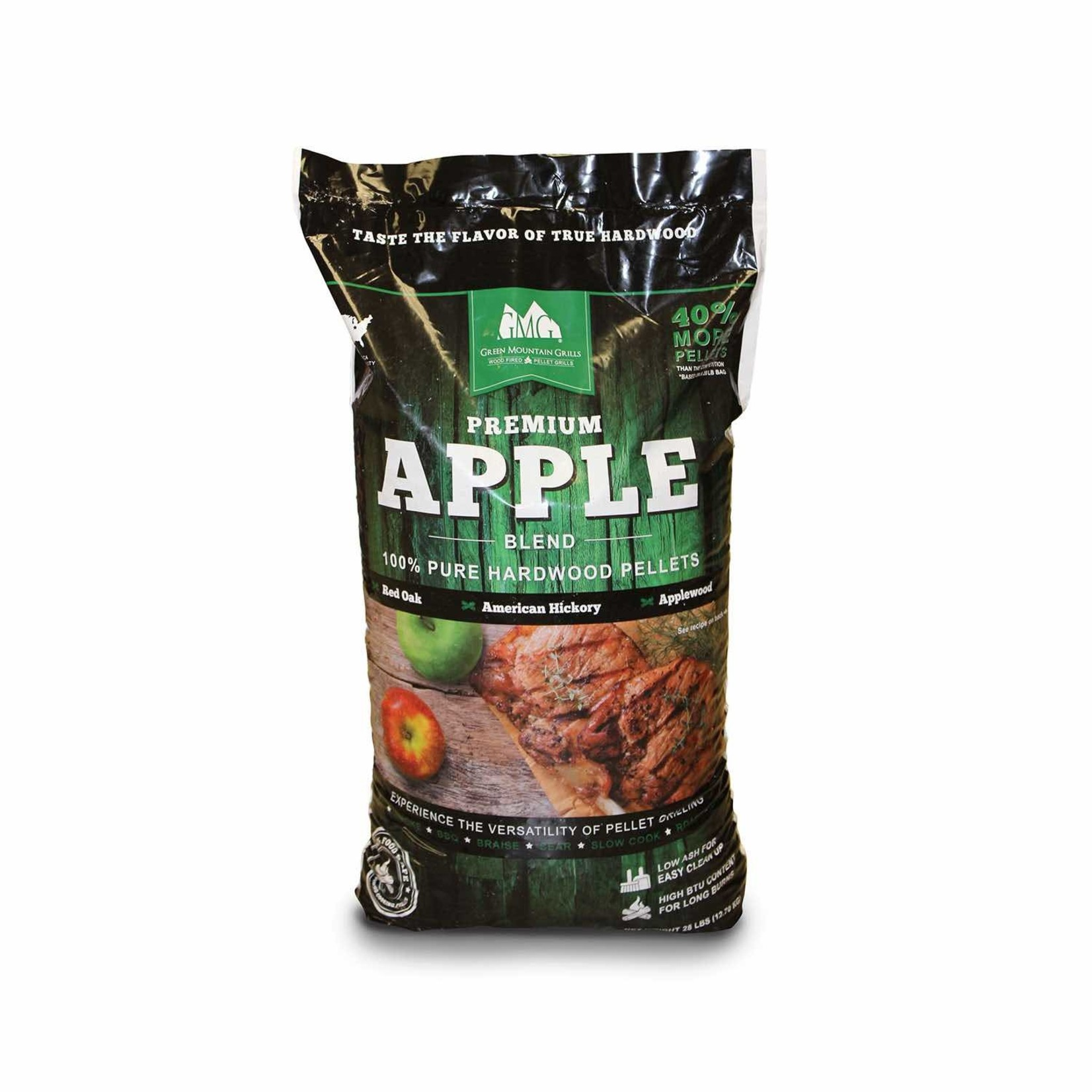Green Mountain Grill GMG Barbecue Pellets Apple Blend 12.7 kg