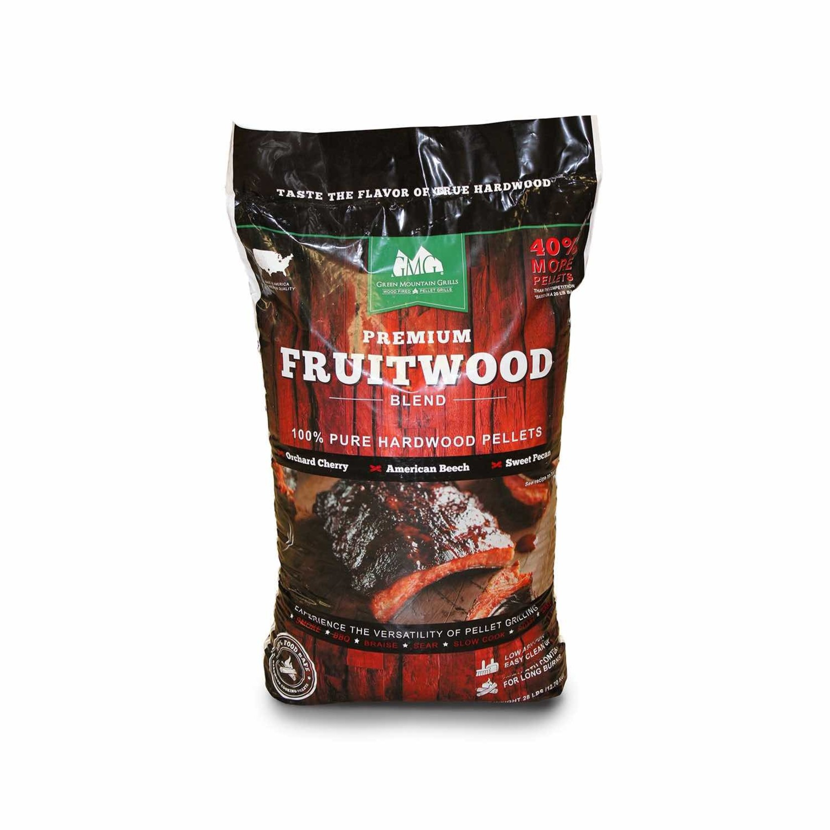 Green Mountain Grill GMG barbecue Pellets Fruitwood Blend 12.7 kg