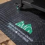 Green Mountain Grill GMG vloermat met logo