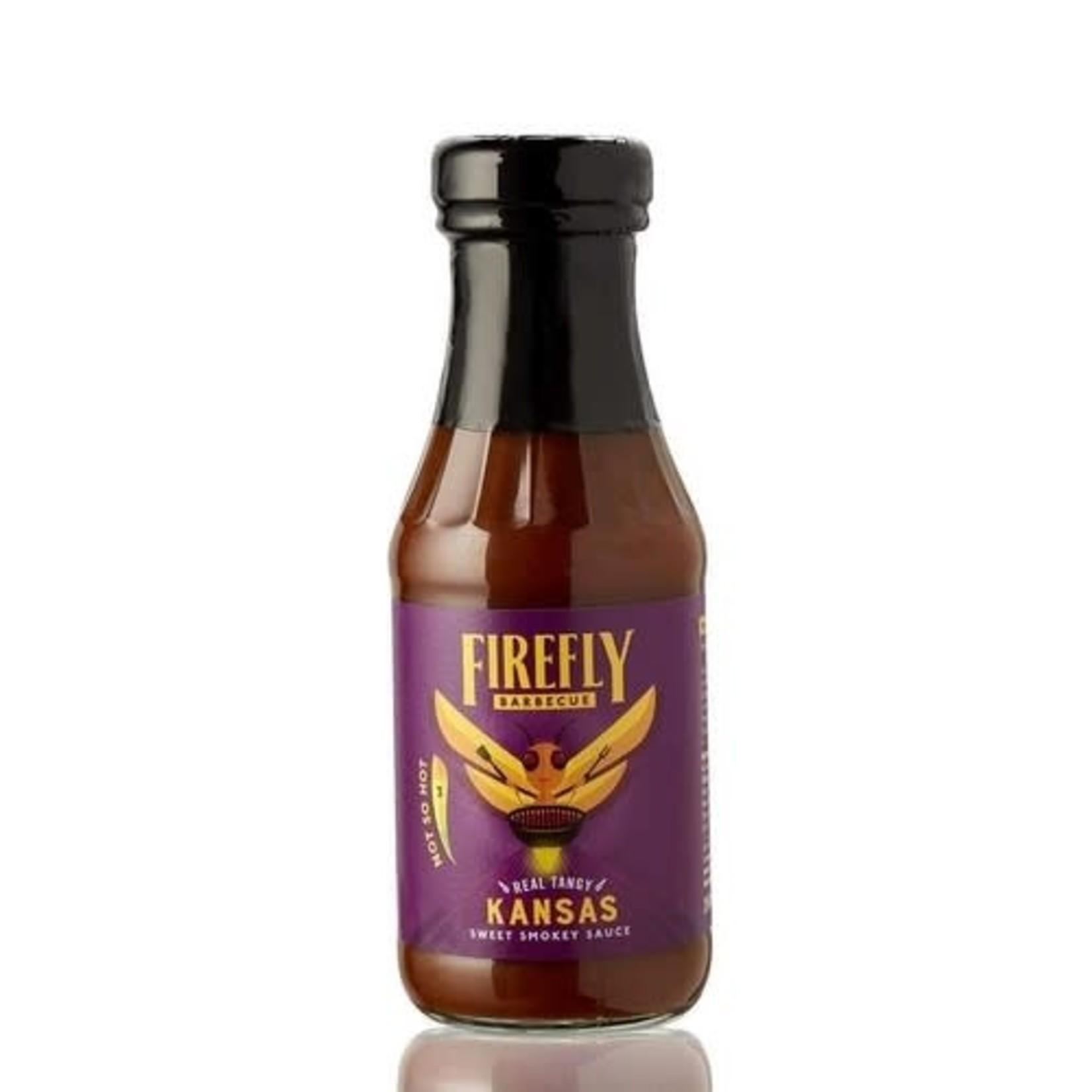 Firefly Firefly Kansas Briket BBQ Sauce 268ml