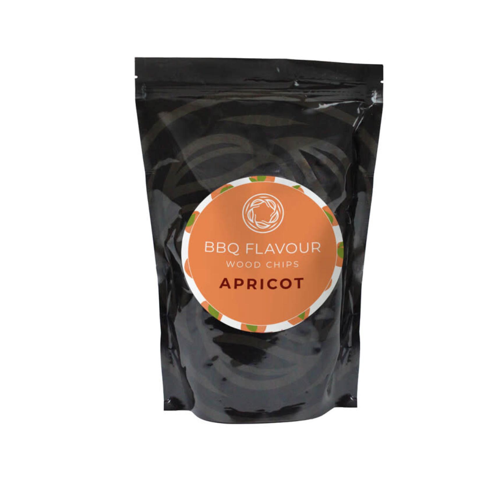 BBQ Flavour BBQ Flavour rookhout chips Apricot