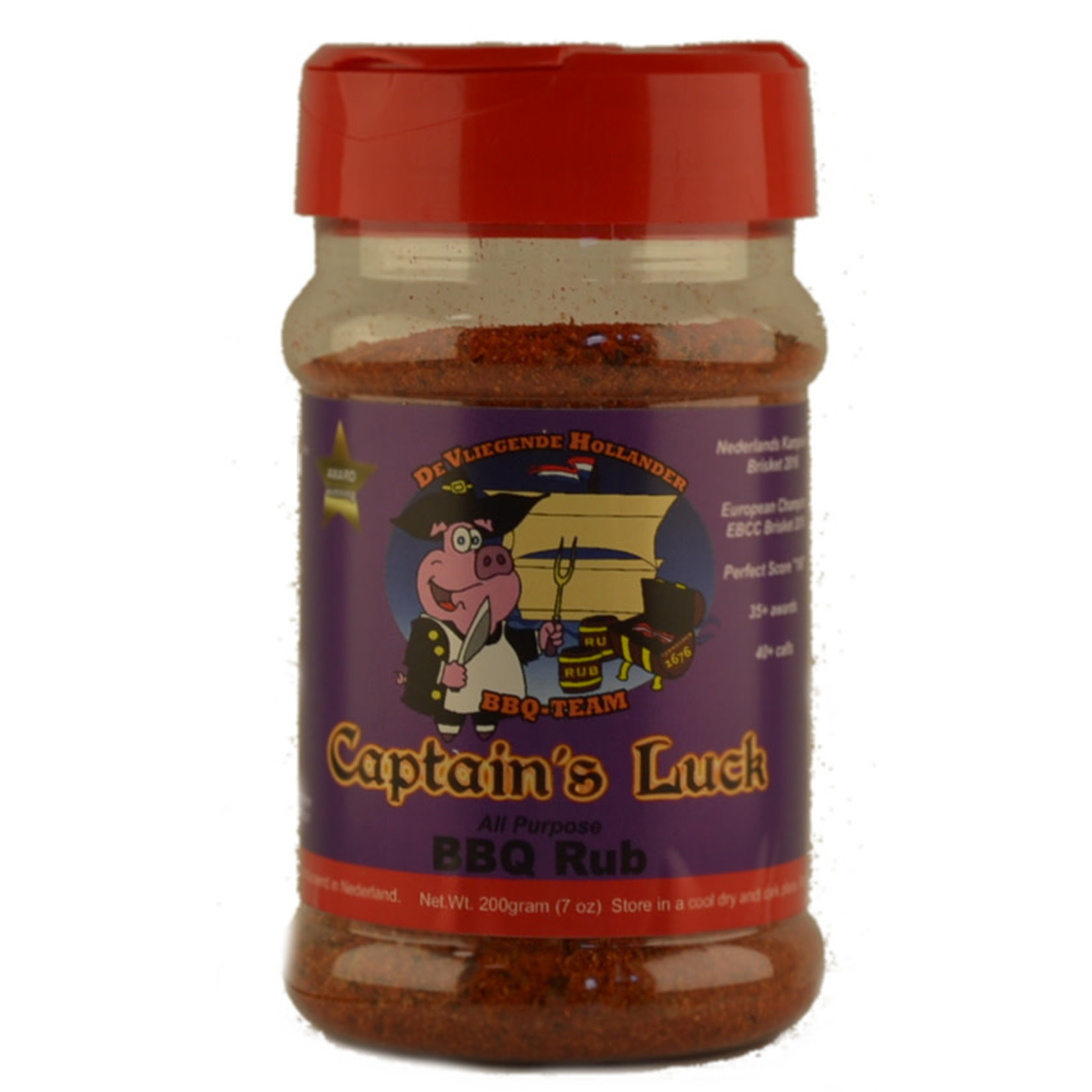 Captain's Luck Captain's Luck All Purpose BBQ rub