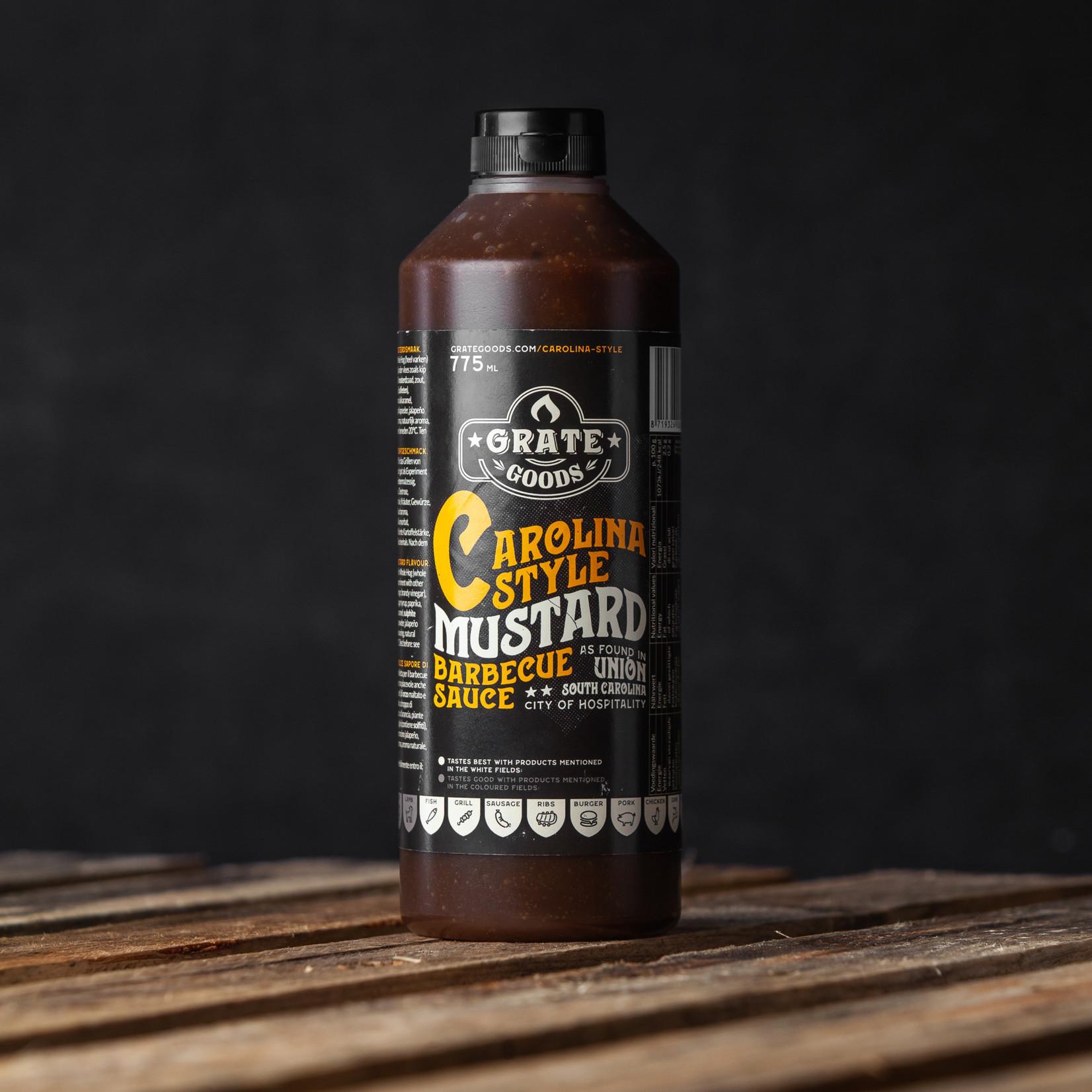 Grate Goods Carolina Mustard Barbecue saus 775 ml Grate Goods